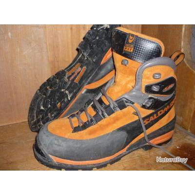 Chaussure Salomon Alpinisme