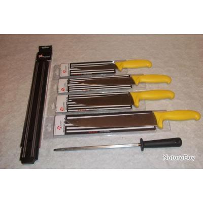 Lot de couteaux pradel excellence ustensiles de cuisine - Lot de couteaux de cuisine ...