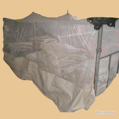 moustiquaires solide en coton crues pour lit de camp lit picot benchbed ou lit en 80 cms de. Black Bedroom Furniture Sets. Home Design Ideas