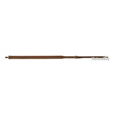Bretelle attache mousqueton en cuir gras pour Fusil, Neuve chez Royal chasse !