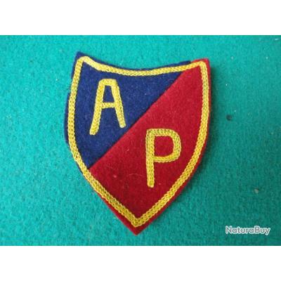 Insigne de bras AP.