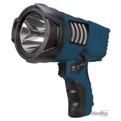 Lampe torche phare de recherche led nightsearcher rechargeable trigger top promo lampes - Lampe camping rechargeable ...