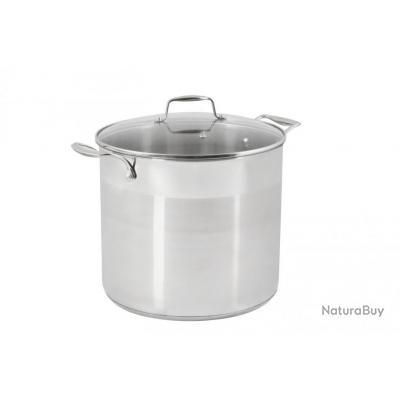 Traiteur inox 15 l diam tre 28 cm mat riel de cuisine for Materiel de cuisine inox