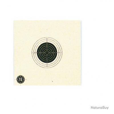Carton de cible 10x10 pour tir à 10 Mètres Vendu par 1000, Neuf chez Royal chasse !