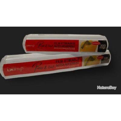 Film etirable alimentaire 300 metres 30 cm de large avec - Film etirable alimentaire cuisine ...