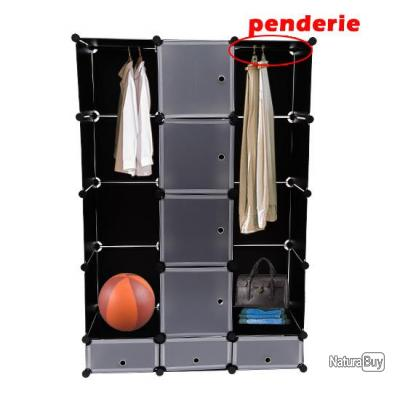 penderie modulable acheter penderie modulable. Black Bedroom Furniture Sets. Home Design Ideas