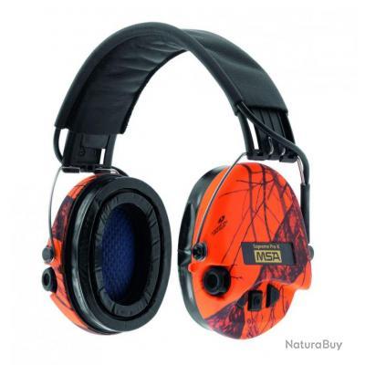 casque audio amplifi msa supreme pro x camo orange casques anti bruits lectroniques 1765240. Black Bedroom Furniture Sets. Home Design Ideas