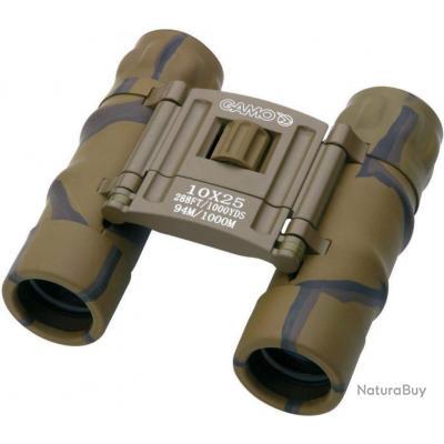 Jumelle 10 X 25 DCF Format de poche Camouflé  GAMO