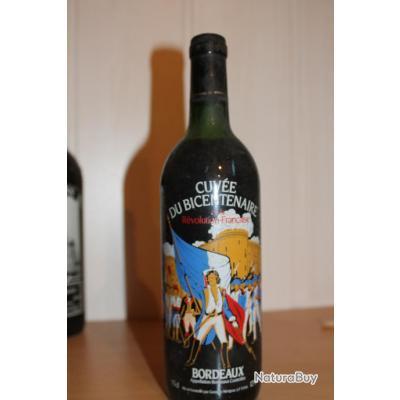 Bouteille  de  vin rouge pour collectionneur
