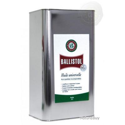 Huile UNIVERSELLE Ballistol // Bidon de 5 Litres