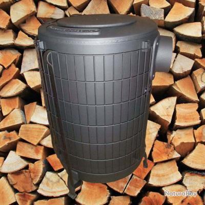 Poêle à bois économique ( maison, chalet, atelier ) à turbo-combustion ECO 5