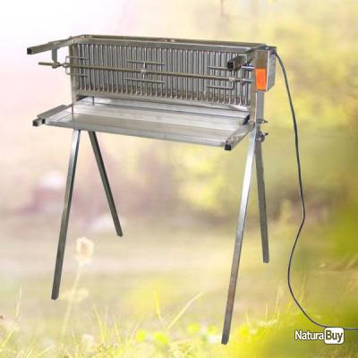 Barbecue bbq inox combustion verticale largeur 66 cm - Barbecue vertical gaz ...