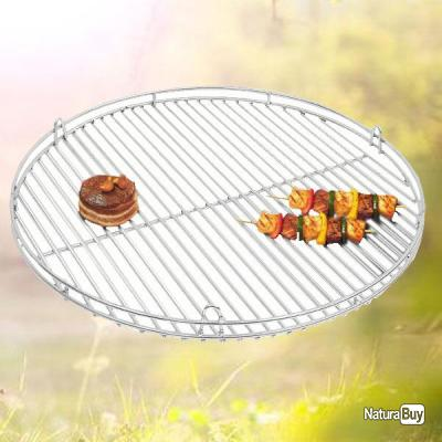 grille de barbecue bbq en inox massif diam 50 cm barbecue 1811450. Black Bedroom Furniture Sets. Home Design Ideas