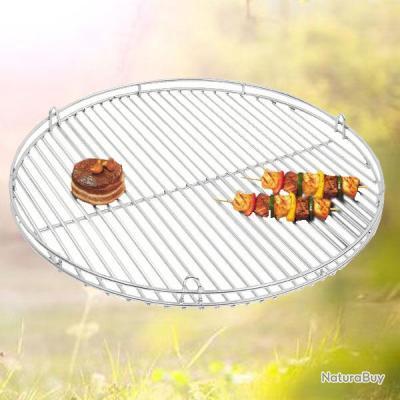 grille de barbecue bbq en inox massif diam 60 cm. Black Bedroom Furniture Sets. Home Design Ideas