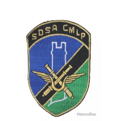 Insigne tissus à coudre défense sol-air Cinq-Mars-La-Pile ( SDSA 27/950)
