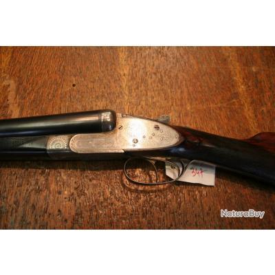 Fusil Juxtaposé Artisanale Belge à Platines