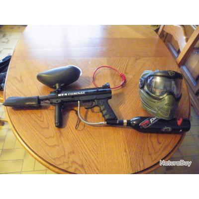 paintball bt-4 combat et c'est nombreux accessoires