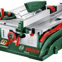 Bosch scie sur table 254mm 1400w avec support pts 10t scie lectrique 1928804 - Scie sur table bosch pts 10 ...