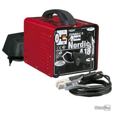 Telwin - Poste à souder à l'Arc portable 160A avec Accessoires - Nordica 4181
