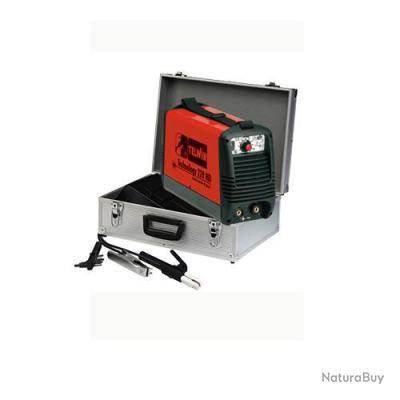 Telwin - Poste à souder Inverter à l'Arc MMA + Tig 5,5kw + Accessoires et Masque - Technology 216 HD