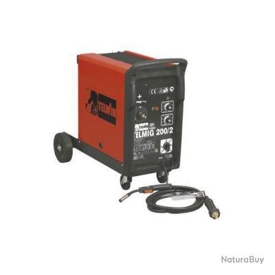 Telwin - Poste à souder sur roues MIG-MAG 220A - Telmig 200/2