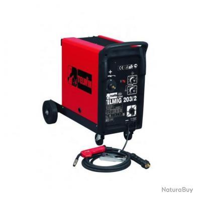 Telwin - Poste à souder portable MIG-MAG 160A Tri 400V - Telmig 203/2