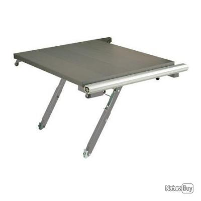 Scheppach kity rallonge lat rale rabattable pour for Table rallonge rabattable