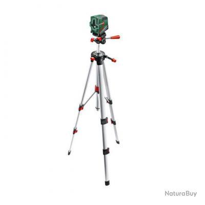 Bosch niveau laser croix 10m avec son tr pied bs 150 for Niveau laser pcl 10