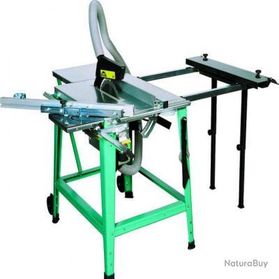 Scheppach kity rallonge de table lat rale pour scie - Scie circulaire de table bosch ...