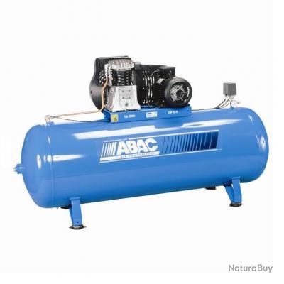 Abac compresseur d 39 air 5 5cv 500 litres b4900f 500 ft5 5 compresseurs et outils - Compresseur 500 litres ...