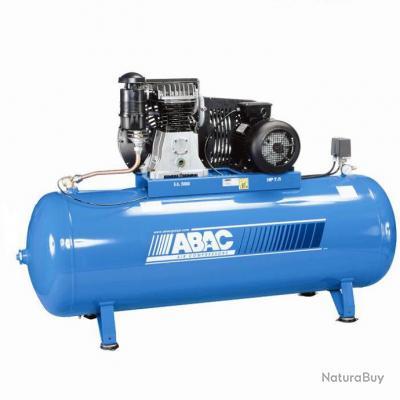 Abac compresseur d 39 air 7 5cv 500 litres triphas b6000bf 500 ft7 5 compresseurs et - Compresseur 500 litres ...