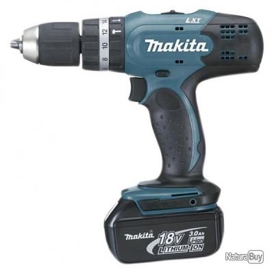 Makita - Perceuse visseuse 18V 3Ah Li-Ion 42Nm - DHP453RFE
