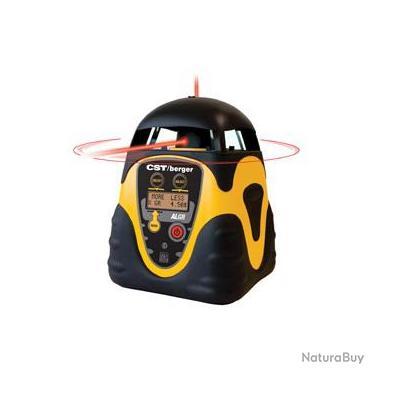 Cst berger laser rotatif 435m mise niveau auto for Niveau laser exterieur professionnel