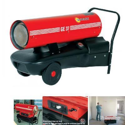 sovelor chauffage mobile sur roues au fuel 36kw ge37 radiateur chauffage 1930639. Black Bedroom Furniture Sets. Home Design Ideas