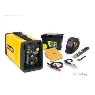 Stanley - Poste à souder inverter MMA 140Ah Power 170 Kit + Lot de 50 éléctrodes OFFERT