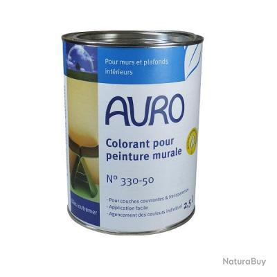 Auro Colorant Pour Peinture Murale Teinte Bleu Outremer 2 5 L N 330 50