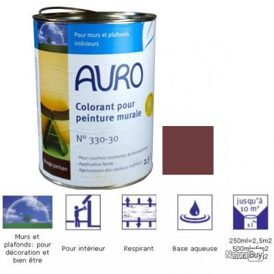 Auro colorant pour peinture murale teinte rouge persan - Teinte peinture murale ...