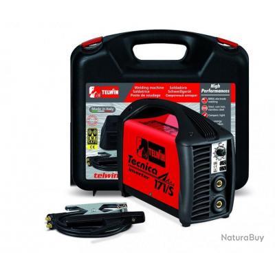 Telwin - Poste à souder à l'Arc portable Inverter 10-150A + Accessoires - Tecnica 171/S