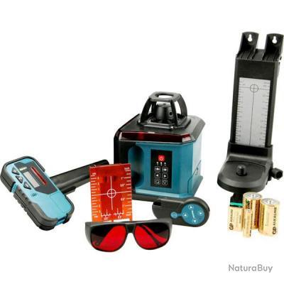 Makita - Niveau laser automatique rotatif 200 Mètres + (Récepteur, support,  télécommande. 949b320a7c17