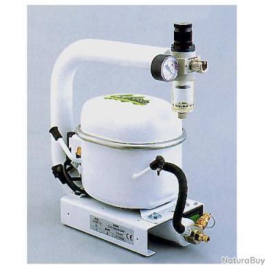 Abac compresseur d 39 air silencieux 135w 1 5 litre 20l mn - Compresseur d air silencieux ...