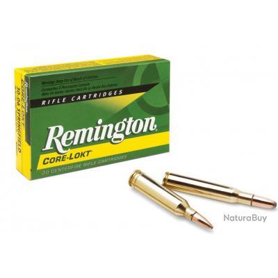 Boite de 50 balles Remington cal.22 Hornet 45 gr PSP