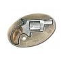 Revolver � blanc boucle de ceinture