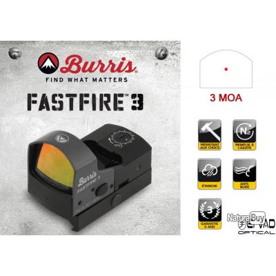 BURRIS FastFire 3 - Point Rouge Panoramique 3 MOA