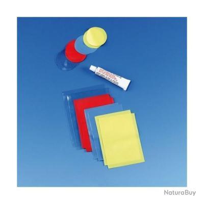 Kit de r paration pour articles gonflables piscine pneumatique rustine col - Rustine pour piscine autoportee ...