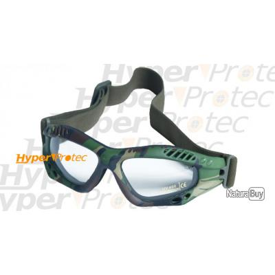 5dcd926751e131 Lunettes de protection Commando airsoft - Camouflage - Protections ...