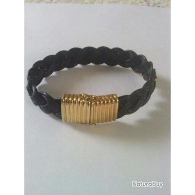 veritable bracelet poil elephant fermoir or 18 c objets. Black Bedroom Furniture Sets. Home Design Ideas