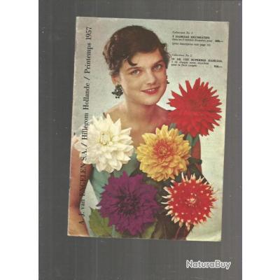 Catalogue hollandais de fleurs 1957 rare livres de for Catalogue de jardinage