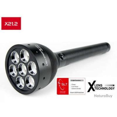 lampe torche ultra puissante led lenser x21 2 lampes. Black Bedroom Furniture Sets. Home Design Ideas