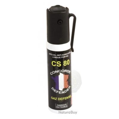 concorde defender aerosol lacrymogene gaz cs25ml bombe. Black Bedroom Furniture Sets. Home Design Ideas