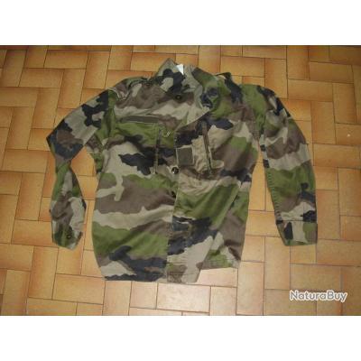 veste TREILLIS  F2 camo CE    taille88 L occasion armée française